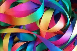 Fita Progresso Cetim Multicolor c/ 10 metros