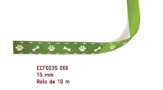 Fita Estampada Progresso Cetim 15mm - ECF003S 066 10mts