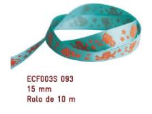 Fita Estampada Progresso Cetim 15mm - ECF003S 093 10mts