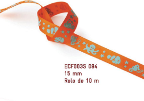 Fita Estampada Progresso Cetim 15mm - ECF003S 094 10mts