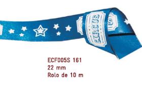 Fita Estampada Progresso Cetim 22mm - ECF005S 161 10mts