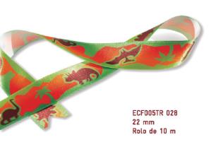 Fita Estampada Progresso Cetim 22mm - ECF005TR 028 10mts