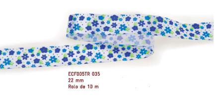 Fita Estampada Progresso Cetim 22mm - ECF005TR 035 10mts