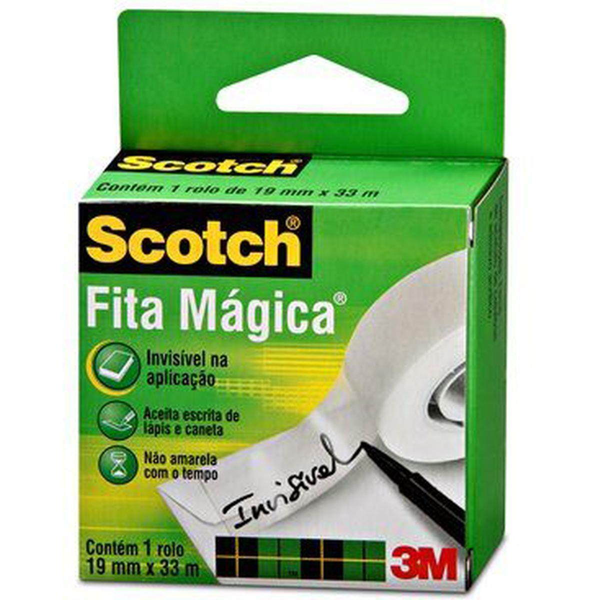Fita Mágica - Scotch 810 - 19mmx33m - 3M
