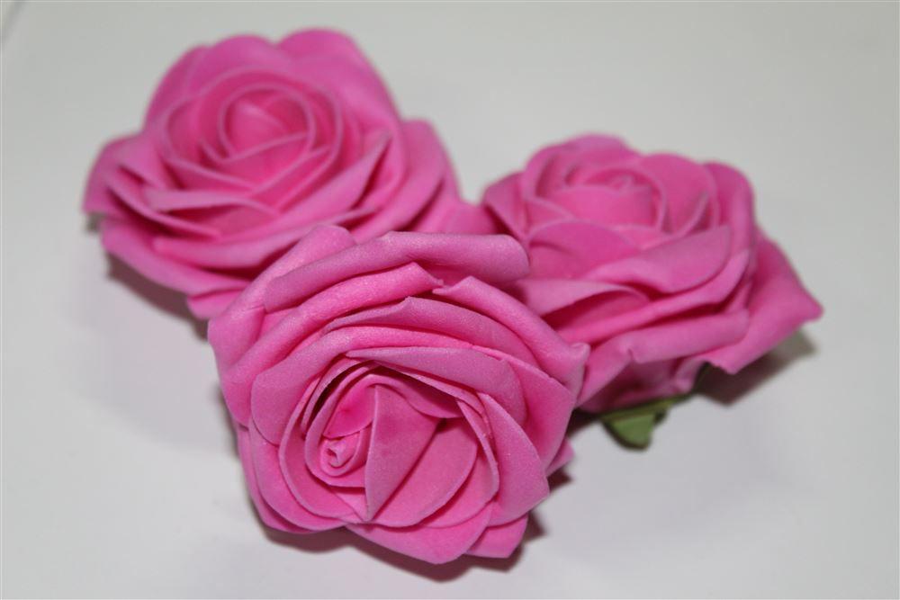 Flor de E.V.A. 7cm - 10 unidades