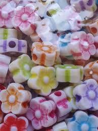 Florzinha Infantil 8MM Plástico Colorido 103- 100 Unidades