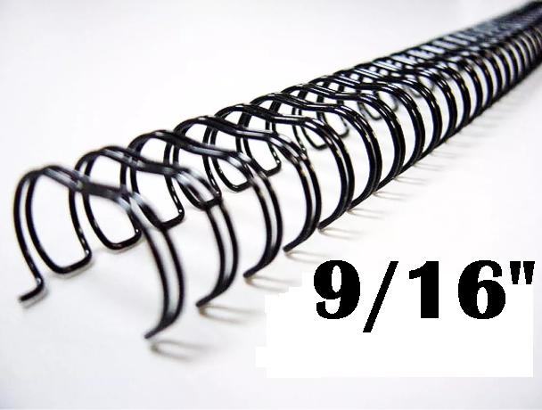 Garra Wire-O Espiral (c/ 5 unidades) 3x1 Encadernação 9/16 P/ 110 Fls A4