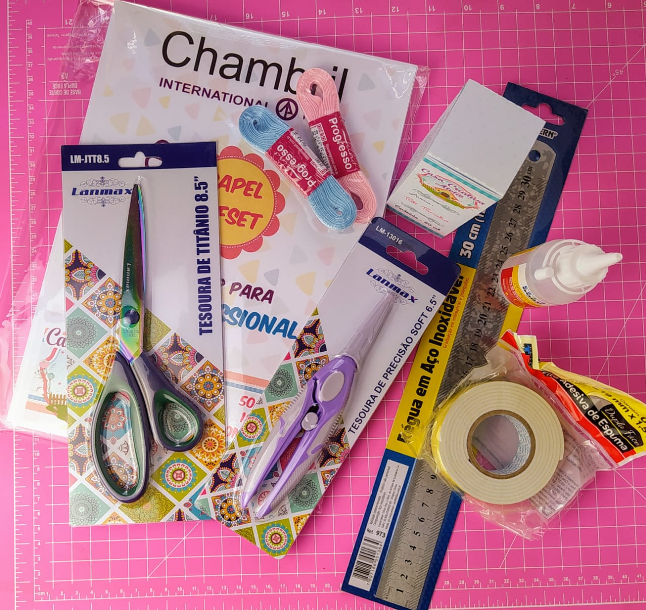 Kit básico de material by Tati Tanaka