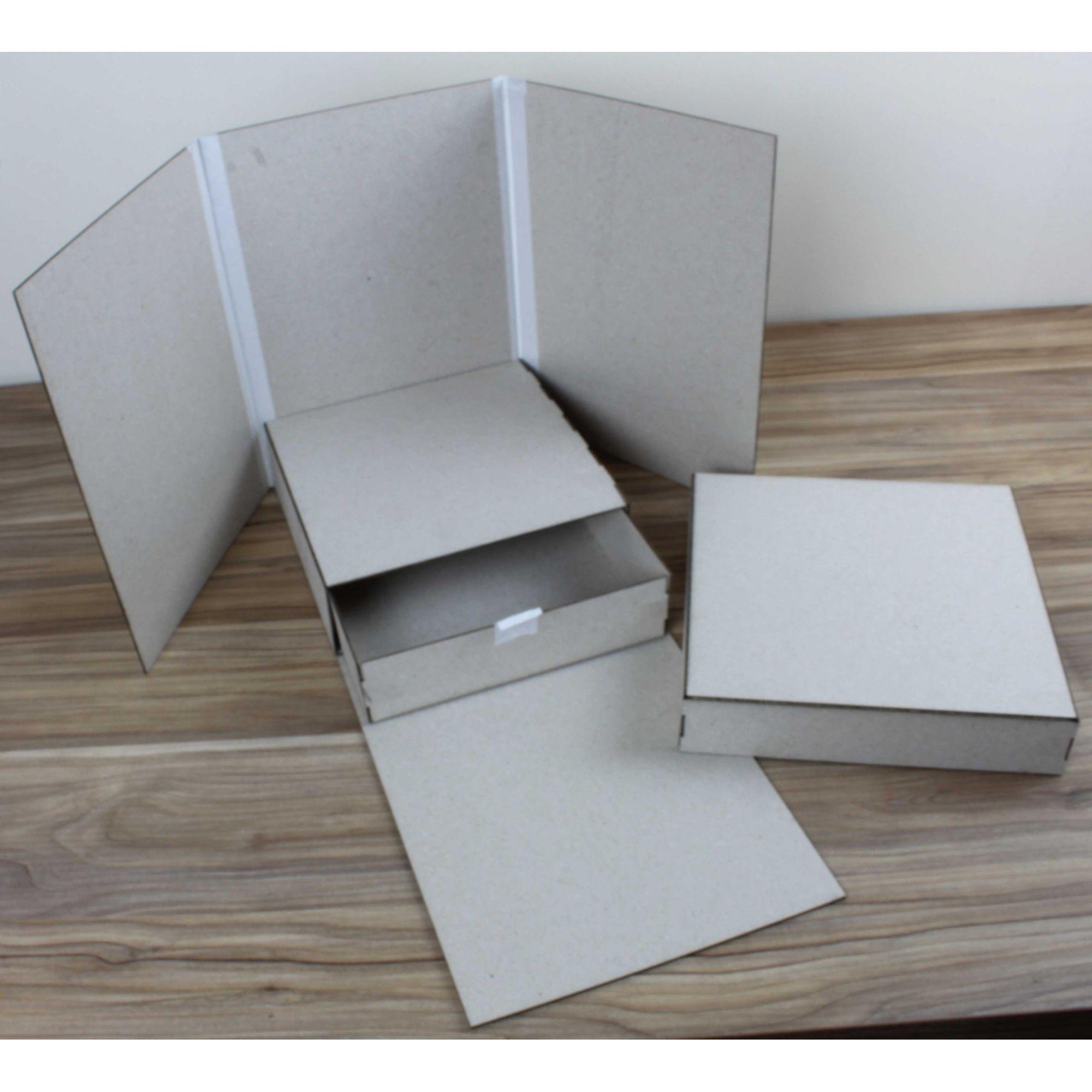 Kit Cartonagem - Caixa Cenário com Gaveta - 1 unidade