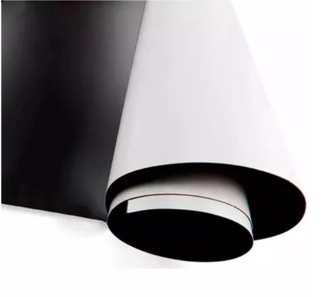 Manta Magnética Adesiva Imã 01 Metro X 0,32cm 0,3mm