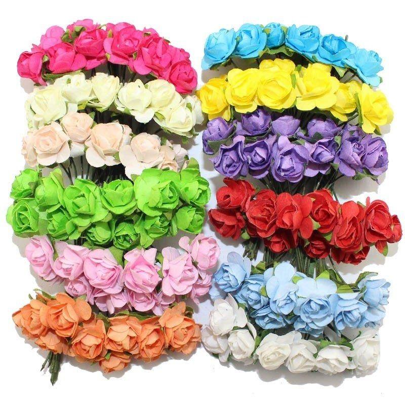 Mini Florzinha de Papel 144 unid