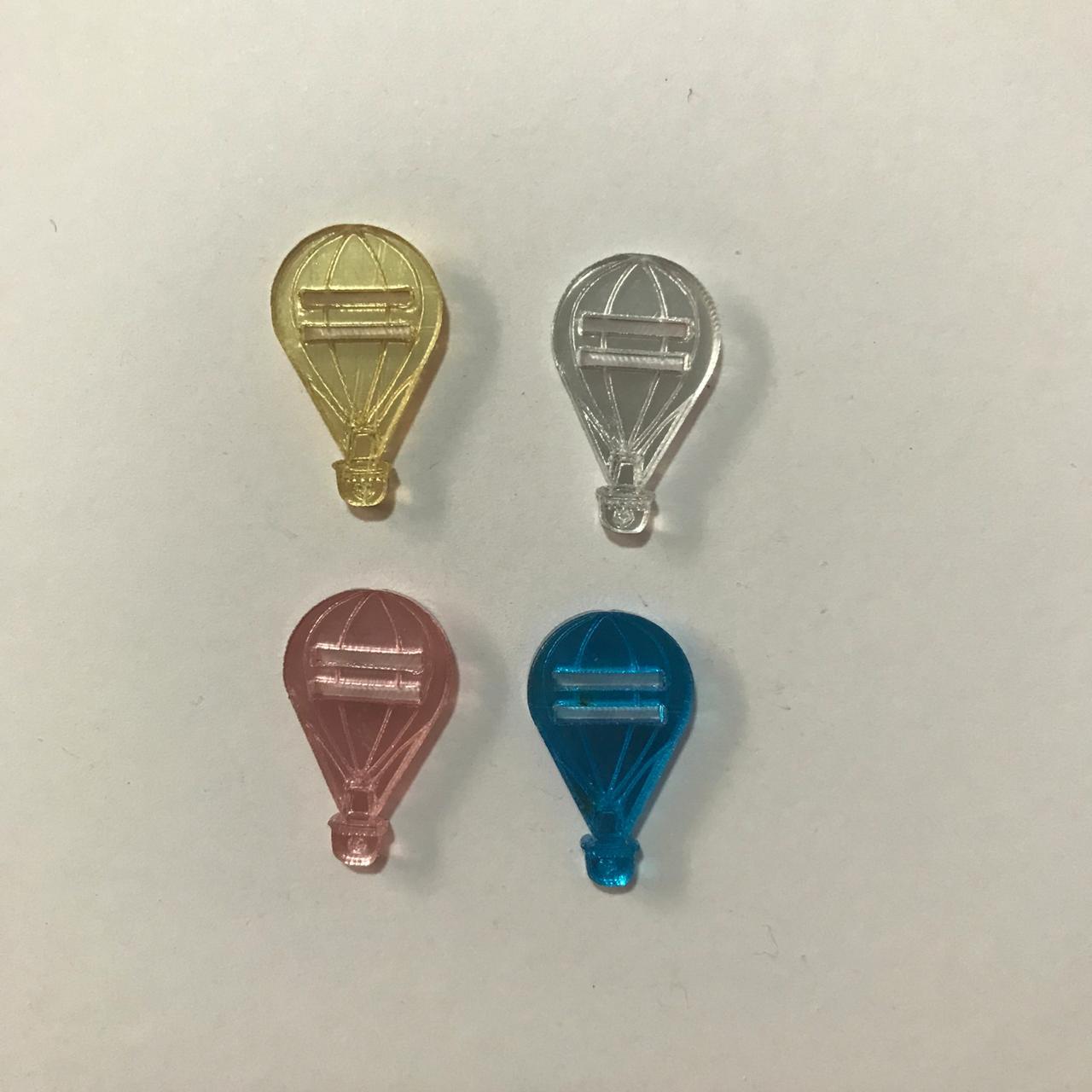 Passante para Elástico - Balão - 2cm (10 unidades)
