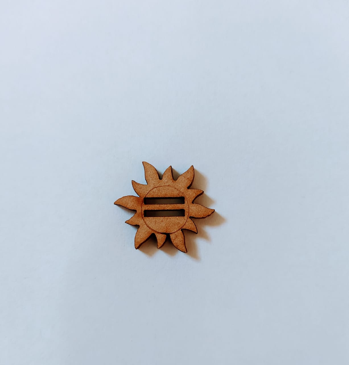 Passante para Elástico - Sol - 2cm (10 unidades) em MDF