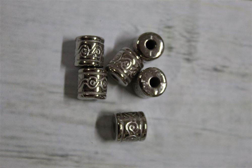 Pé de Caixa - 13mm - Níquel - 50 unidades