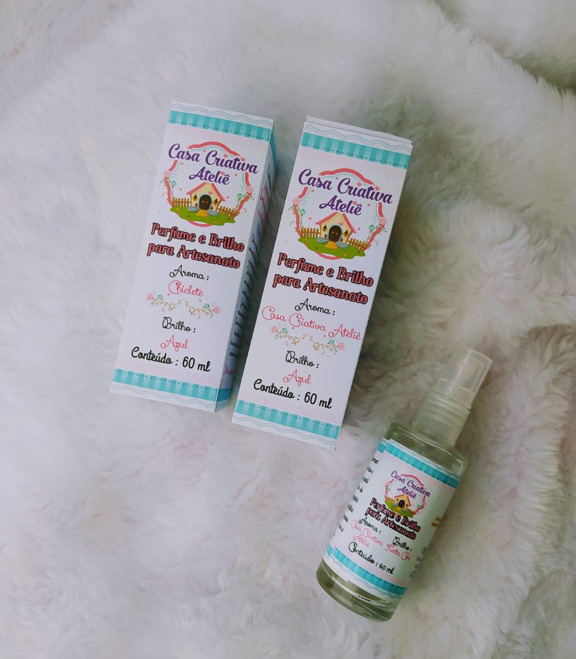 Perfume e Brilho para Artesanato - 60ml