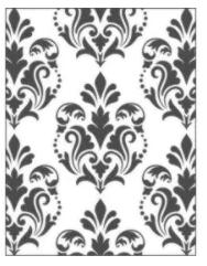 Placa para Relevo 2D Elegance - 107x139mm - Clássico Europeu - Toke e Crie