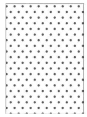 Placa para Relevo 2D Elegance - 127x177mm - Poá - Toke e Crie