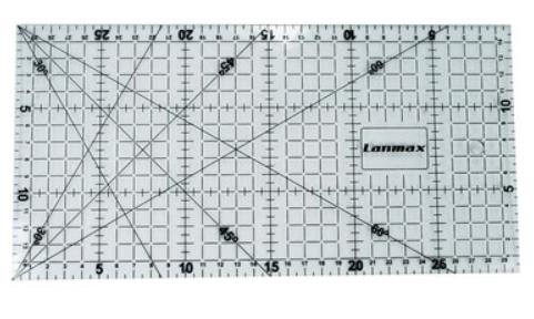 Régua para Patchwork 15x30cm - Lanmax