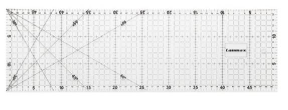 Régua para Patchwork 15x60cm - Lanmax