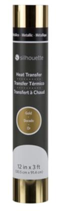 Transfer Metalico - Silhouette - 30,48cm x 91,44cm