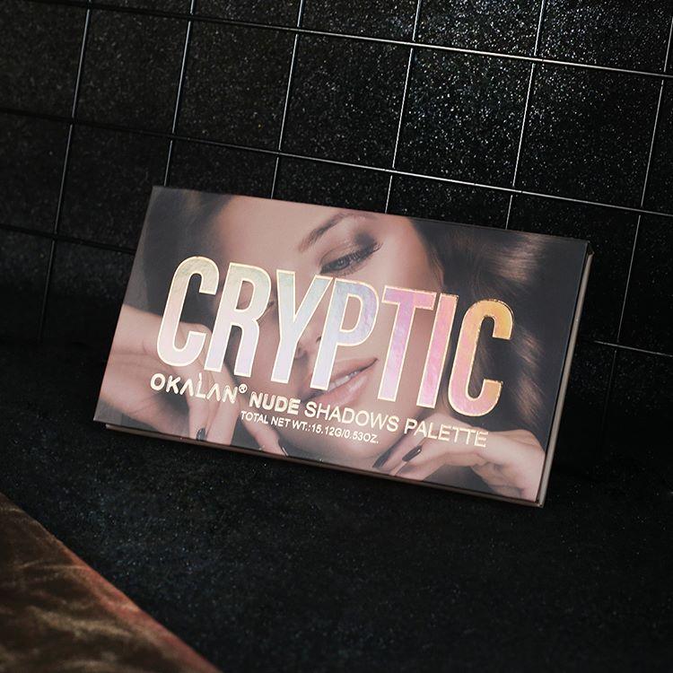 Paleta de Sombra Cryptic Nude | Okalan