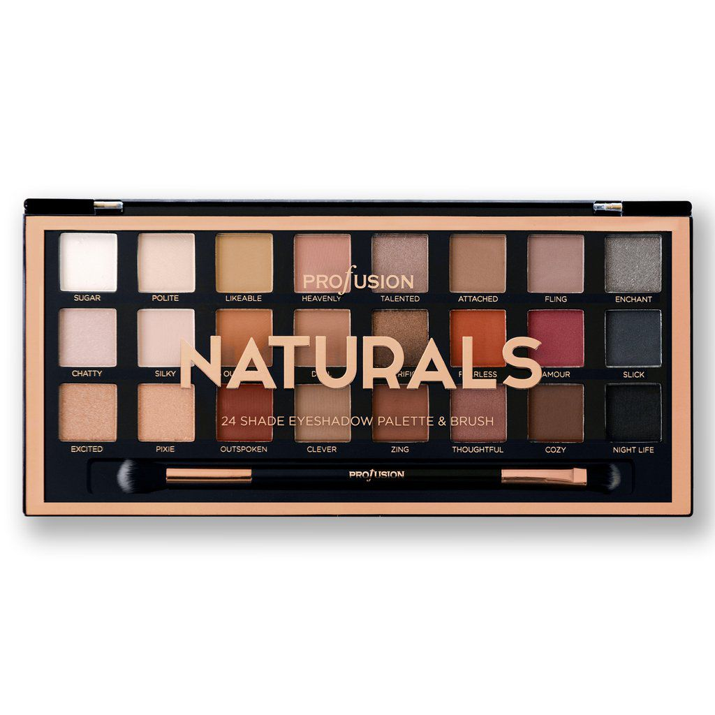 Paleta de Sombra Profusion Cosmetics The Artistri - Naturals