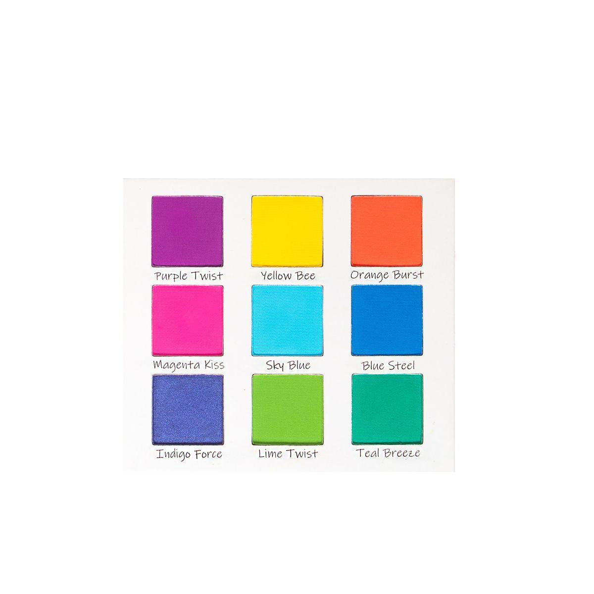 Paleta de Sombra Splash of Hues 1 | Beauty Creations