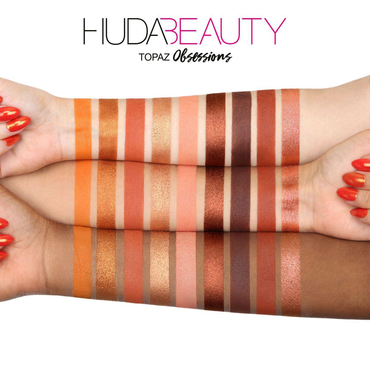 Paleta de Sombra Topaz | Huda Beauty