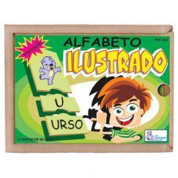 Alfabeto ilustrado Portugês
