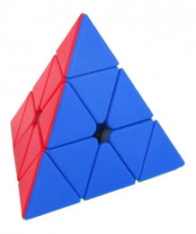 Cubo Mágico Profissional - Piraminx sem Adesivo