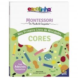 Escolinha Montessori Meu Primeiro Livro Atividades... Cores