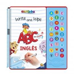 Escreva e Apague ABC com Sons Inglês