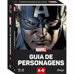 Puzzle Book Marvel: Guia de Personagens A-D