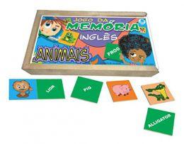 Memória Inglês - Animais