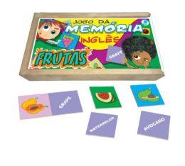 Memória Inglês - Frutas