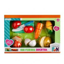 Mini Feirinha Divertida - Legumes