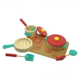 Panelinhas com Cooktop e utensílios