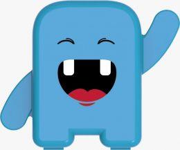 Porta Dente de Leite - Azul