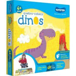 Quebra-Cabeça Grandão Dinossauros