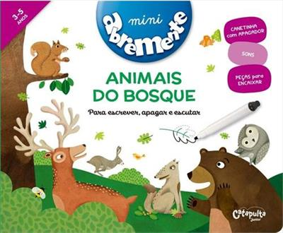 Abremente Mini: Animais do Bosque