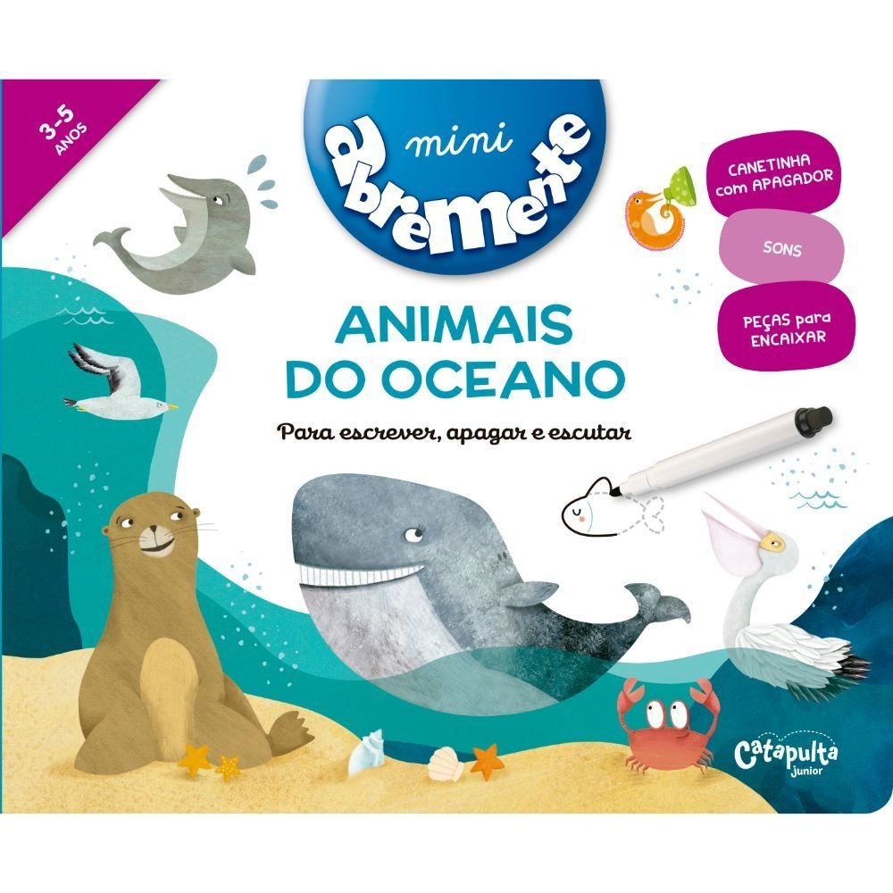Abremente: Animais do Oceano