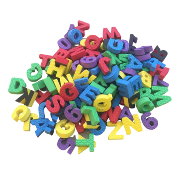 Alfabeto e Números Magnéticos