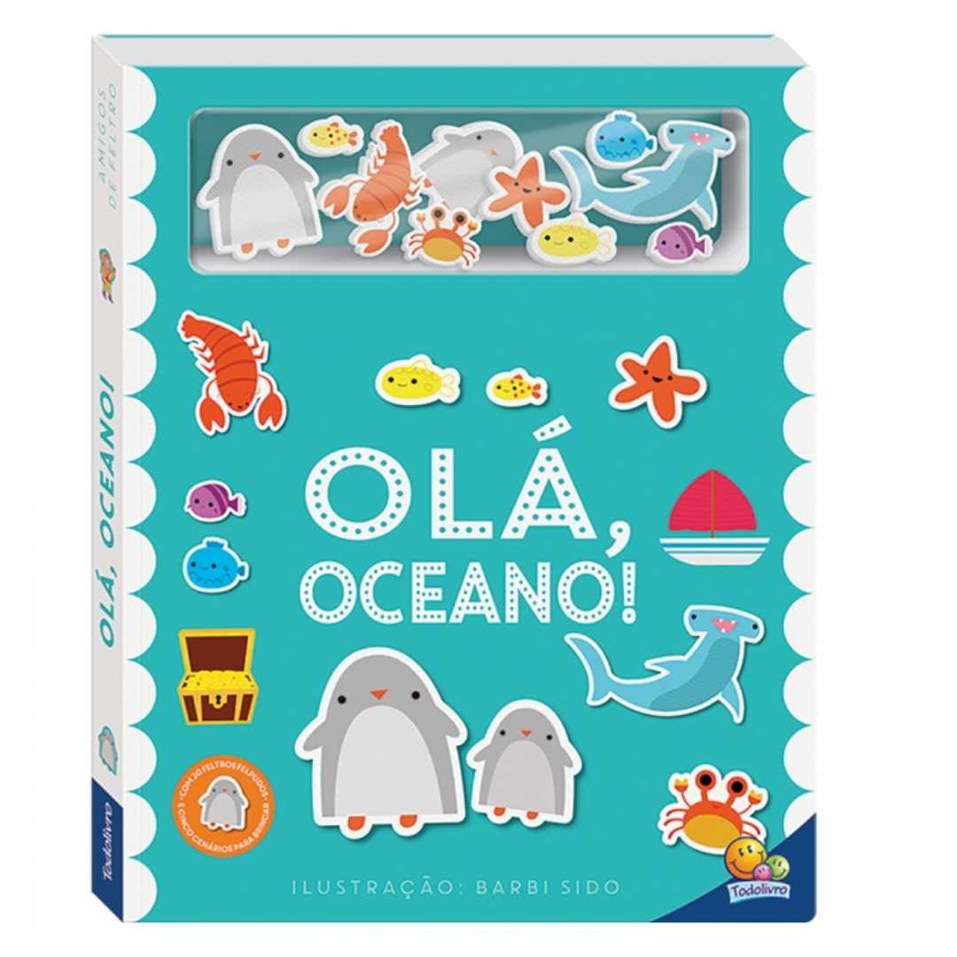 Amigos de Feltro: Olá Oceano!