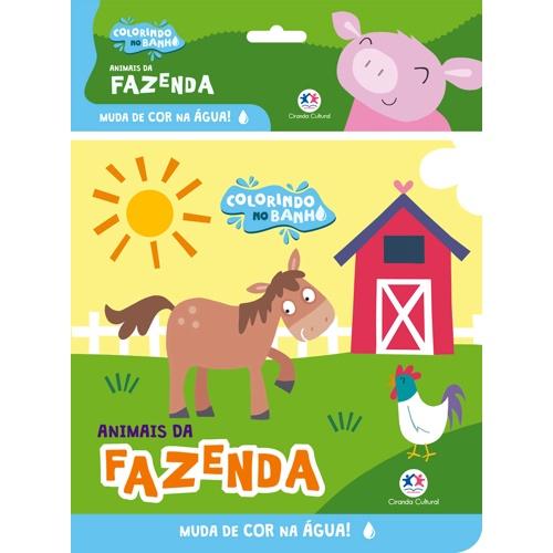Animais da Fazenda - Colorindo no Banho