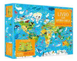 Animais do Mundo: Livro Com Quebra-Cabeça