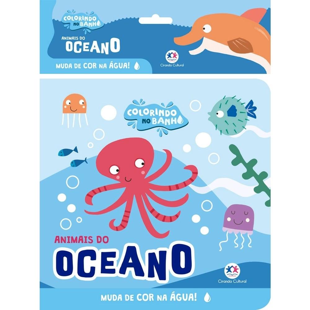Animais do Oceano - Livro de Banho