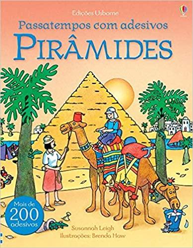 As Pirâmides - Passatempos com Adesivos