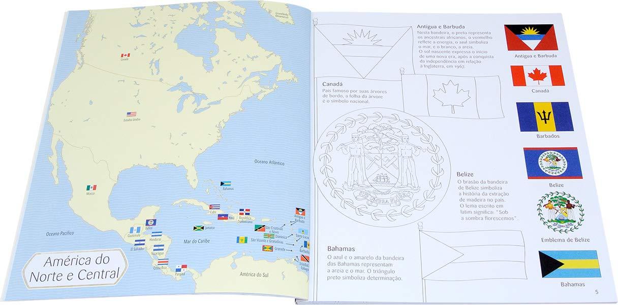 Bandeiras do Mundo - Quebra-Cabeça e Livro