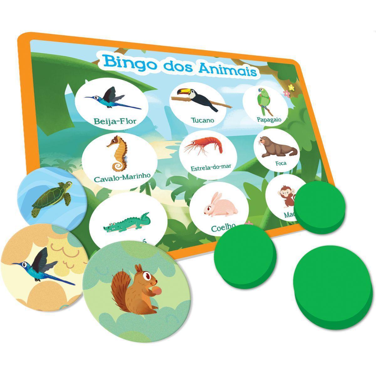 Bingo dos Animais Toyster