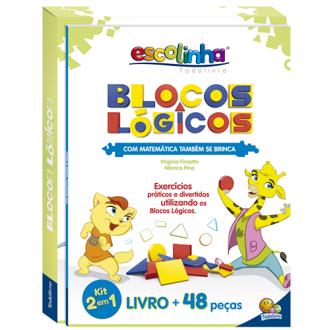 Blocos Lógicos + Livro de Atividades